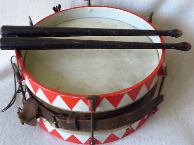 Pimpf's Marching Drum_German_WW1_WW2_Jugend_Military Motif_1910-1940's_(#30002)