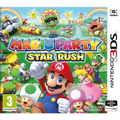 Mario Party Star Rush (3DS)  BRAND NEW AND SEALED - IN STOCK - QUICK DISPATCH