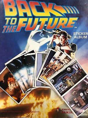 ***Panini Back to the future Stickers (1985)***