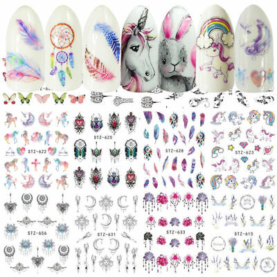 Nail Stickers Water Decals Transfers s Dreamcatchers Feathers s