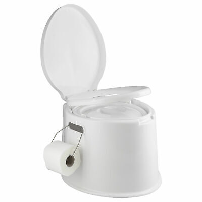 990c9e97cfb ANDES 5L PORTABLE Camping Festival Toilet Caravan Fishing Potty Loo + Cover  - EUR 26