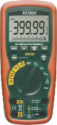 Extech EX530 Hand-Digital-Multimeter 9V Block wasserdicht 50Hz-1kHz True 592478