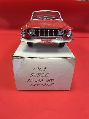 1962 Dodge Dart Convertible Promo Red See Pics