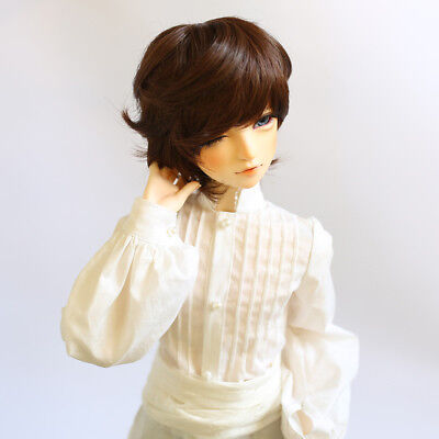 6cm Short Curly Hair Wig Hairpiece for 1/3 BJD SD DZ DOD LUTS Doll Accs