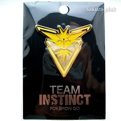 Team INSTINCT Pokemon Go Official Pin Pokemon Center Limited Authentic Japan