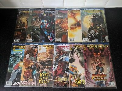 IDW Transformers Generations issue 1 - 12