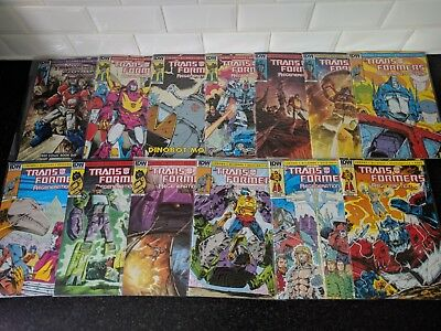 IDW Transformers regeneration one 80.5 - 92 comic bundle