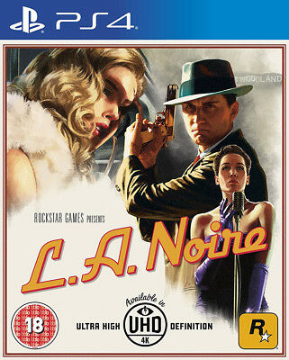L.A. Noire (PS4)  BRAND NEW AND SEALED - IN STOCK - QUICK DISPATCH