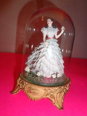 """Gone With the Wind figurine under glass dome """"Scarlett's Heritage"""""""