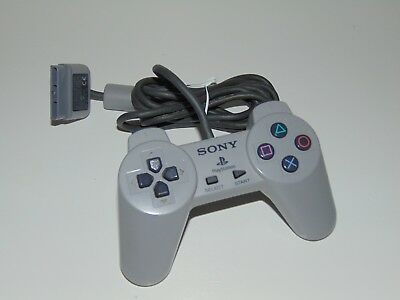 Official Grey Sony PlayStation 1 PS1 (SCPH-1080) Controller Control Pad