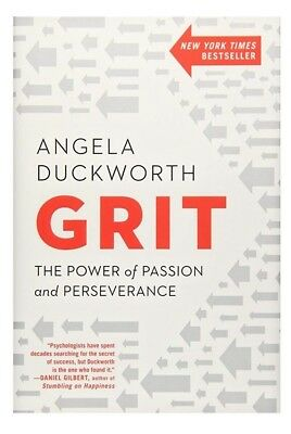 BRAND NEW HARDBACK BOOK - Grit:The Power of Passion and Perseverance A Duckworth