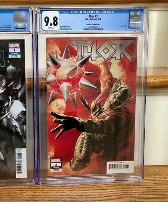 THOR #2 CGC 9.8 1st PRINTING SCARCE 1:25 DEODATO VARIANT COVER 1/1 on eBay !