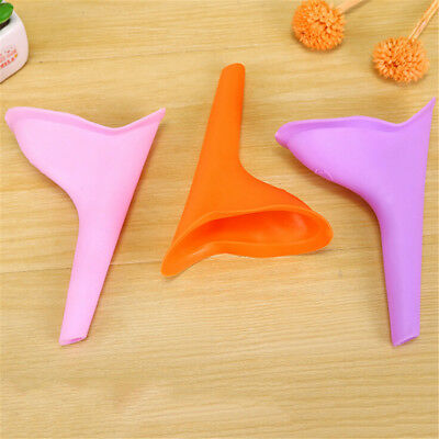 Women Female Portable Urinal Outdoor Travel Stand Up Pee Urination Device CaseAT