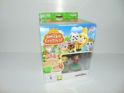 Animal Crossing Amiibo Festival - Special Edition Box Set - Nintendo Wii U - New