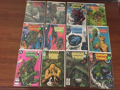 SWAMP THING LOT of Comics DC ALAN MOORE Copper age Nice Copies!