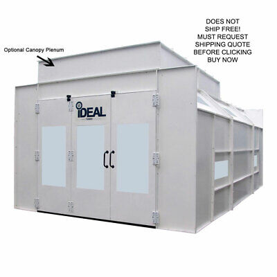NEW IDEAL Semi Down Draft Automotive Vehicle Car Truck Spray Paint Booth