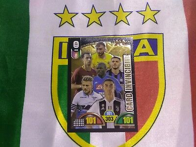 Adrenalyn Calciatori 2018 2019 panini CARD INVINCIBILE 468