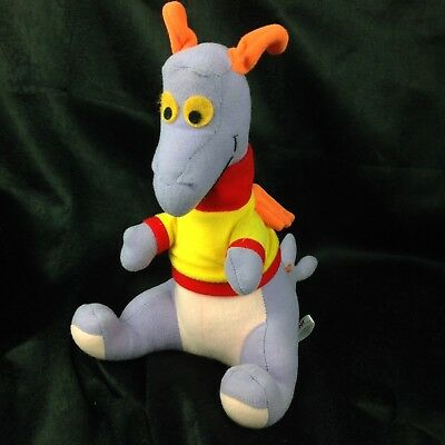 "Vintage 1982 Walt Disney World Epcot Center 12"" Figment Stuffed Plush Toy"