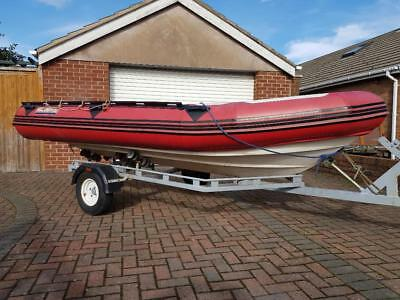 Narwhal NK450-R Rib Boat and Trailer