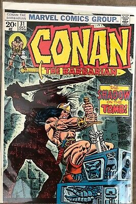 Conan The Barbarian #31-The Shadow of the Tomb