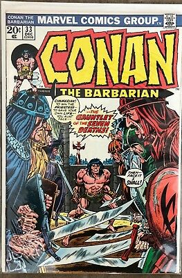 Conan The Barbarian #33-The Gauntlet Of The Seven Deaths!