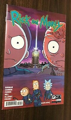 RICK AND MORTY #10 (Oni Press) -- 1st Printing -- NM-  Or Better