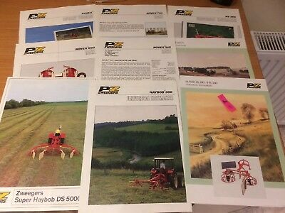 PZ Zweeger  Mini Bundle Of Brochures