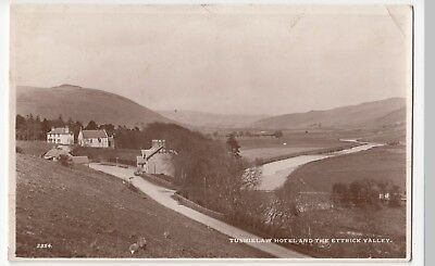 Selkirkshire; Tushielaw Hotel & The Ettrick Valley RP PPC By Edwards, 1948 PMK
