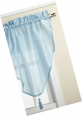 Lorraine Home Fashions Reverie 40-inch x 25-inch Ascot Valance, Blue