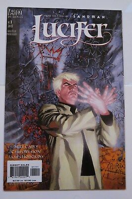 Lucifer 1 Vertigo Dc Comics Tv Show Hot Rare