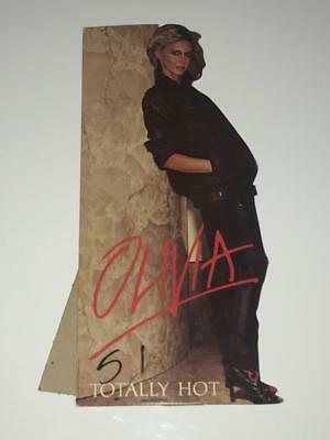 Olivia Newton John Totally Hot ('78) Promo Mini Standee MCA Records NOS 01