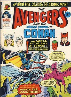 The Avengers And The Savage Sword Of Conan...  Marvel Comic  No.133  Apr 3, 1976