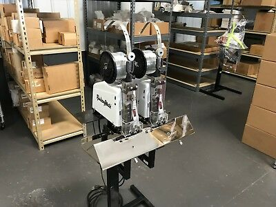 Dual Head BinderyMate 305 Wire Stitcher - Fully-Serviced & Tested w/ Wire