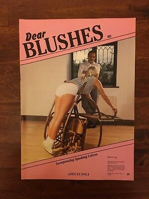 Dear BLUSHES Incorporating spanking letters  CP MAGAZINE  NO. 65