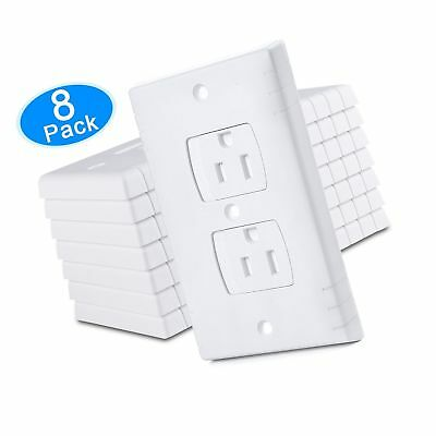 Austor Electric Outlet Covers Baby Safety Self Closing Wall Socket
