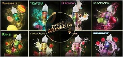 Twelve Monkeys - E-Liquid - Shake and Vape - Alle Sorten - 50ml