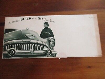 1953 Buick Roadmaster Brochure - Mint Condition