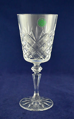 """Galway Crystal """"CLARE"""" Wine Glass – 18cms (7-1/8″) Tall"""