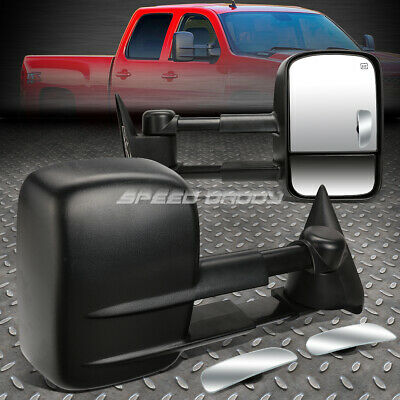 POWER HEAT TOW MIRROR SIDE LED+BLIND SPOT RECTANGLE CONVEX FOR 99-02 GMT800