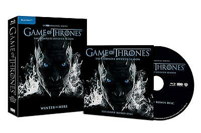 Game of Thrones: The Complete Seventh Season 7 (Blu-Ray, 2017)