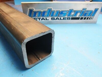 "2-1/2"" x 24""-Long x 1/4""Wall Steel Square Tube-->2.500"" Steel Square Tube"