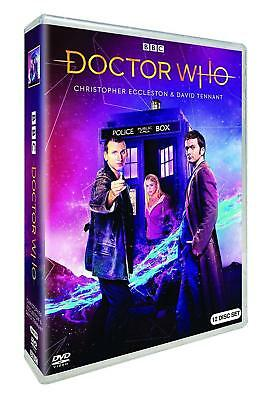 DR WHO 2005-2010 Series 1-4 ECCLESTON + TENNANT Doctor Collection Seasons R1 DVD
