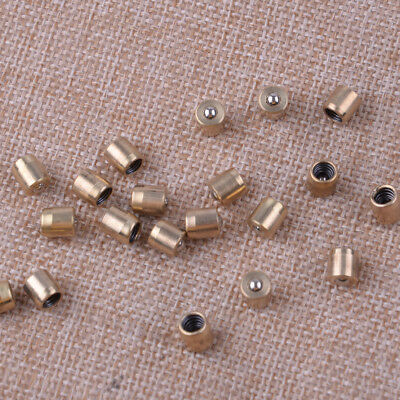 Brass Push Button Oiler for Engine Hit Oil Grease Metal Tool Accessories 20 Pcs