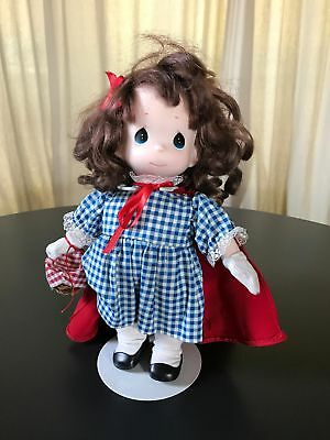 Precious Moments Doll - Little Red Riding Hood w/ Stand