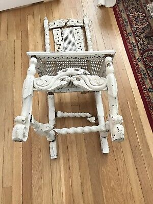 Jacobean Chair- Period- Pre 1700's In Pieces - Needs Restoration