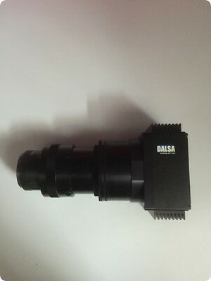 DALSA P2-49-08K40-00E high speed linear array scanning camera with lens Tested
