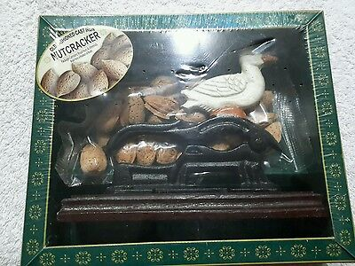 Old Fashioned cast iron nut cracker 2003 Duck Read  (tbl8)