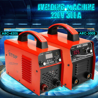 220V MMA ARC 420A 300A IGBT Electric Welder Inverter Welding Machine + Mask