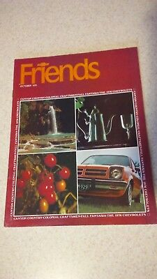 October 1975 Chevrolet Friends Magazine