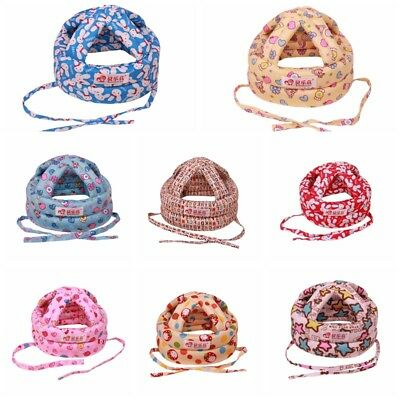 Baby Safety No Bumps Adjustable Warm Caps Helmet Headguard Head Protector Hat US